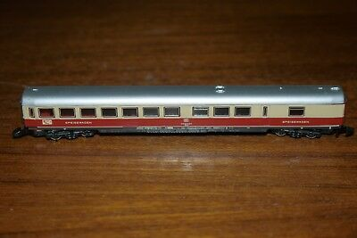 MARKLIN mini club # 8726 Z Scale Model Train Passenger Dining Car Coach BOXED