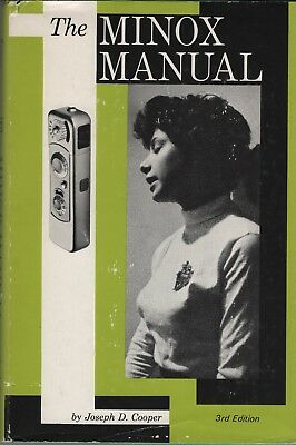 THE MINOX MANUAL, book by Joseph D. Cooper, 3rd edition, 1966