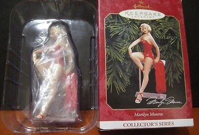 1999 Hallmark Christmas Ornament Marilyn Monroe