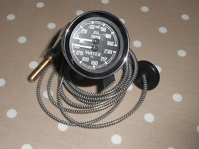 Smiths Dual Oil / Water Gauge Bha4737 Deg. Farenheit - £79.50 - We Are Cheapest