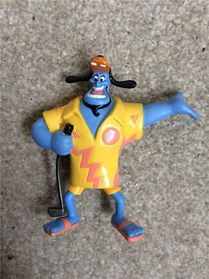 "Rare Disney Aladdin Mattel  figure Genie as Goofy Holiday approx 5"" VGC gq"