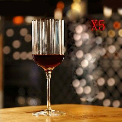 New 5X Capacity 280ML Height 206MM Creative High Foot Red Wine Glass/Glassware %