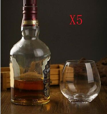New 5X Capacity 330ML Height 102MM Transparent Red Wine Glass/Glassware %