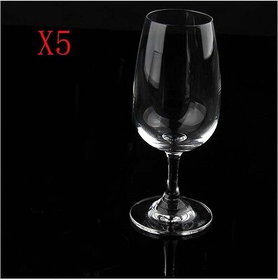 New 5X Capacity 220ML  Height  157MM  Transparent  Red Wine Glass/Glassware %