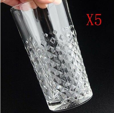 New 5X Capacity 395ML Height 153MM Lead Free Whisky Wine Glass/Glassware %