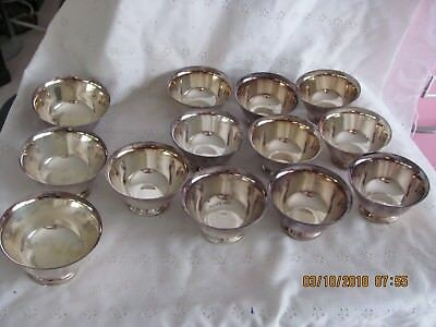 Lot 13 Silverplate Reed Barton Wm Rogers Paul Revere Berry Dessert Nut Dishes