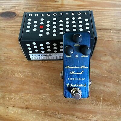 One Control Prussian Blue Reverb mit OVP