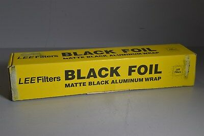 #4 Lee Filters Black Foil Matte black Cine foil - sealed