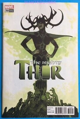 Mighty Thor #700 Adam Hughes Variant Cover 1:100 Marvel Legacy New 1 2017