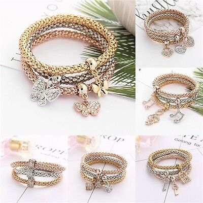 NEW Jewelry fashion Cute Infinity Charm Bracelet Gold Silver lots Style Pick