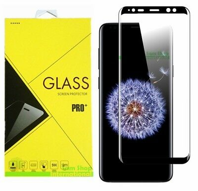 For Samsung Galaxy S9 S9 Plus Full Cover 3D Tempered Glass Screen Protector 2018