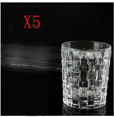 New 5X Capacity 300ML Height 100MM Lead Free Whisky Wine Glass/Glassware %