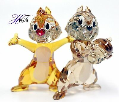 Chip 'n' Dale Disney Character Colored Edition 2018 Swarovski Crystal  5302334
