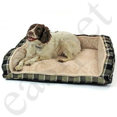Deluxe Dog Bed Orthopaedic Pet Comfy Soft Cushion Chair Large Luxury Easipet
