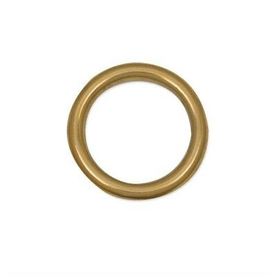"""Tandy Leather Cast Ring 1"""" (25.4 Mm) Solid Brass 1179-02 - 1 26mm 117902 Free"""