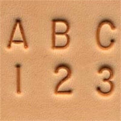 Alphabet & Number Set - 14 6mm Simple Leather Stamping Ivan Craftool