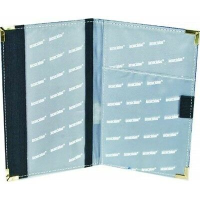 (blue) - Longridge Deluxe Golf Scorecard Holder - Blue Great Gift Free Uk