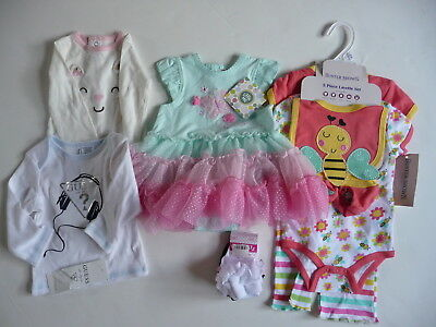 Lot Of Baby Girl 6 Month clothes  ALL NWT Buster Brown Little Me Guess Caters