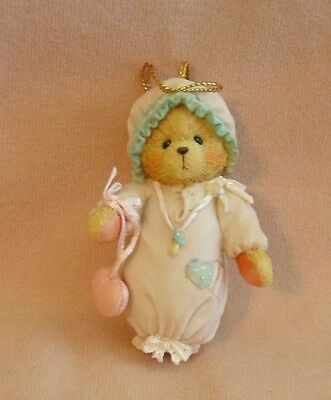 Cherished Teddies - Baby Girl's First Christmas Ornament - #913006