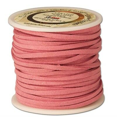 Ecosoft Lace 1/8in X 25yd - 18in 8x25 Yds Pink Lacing Braiding