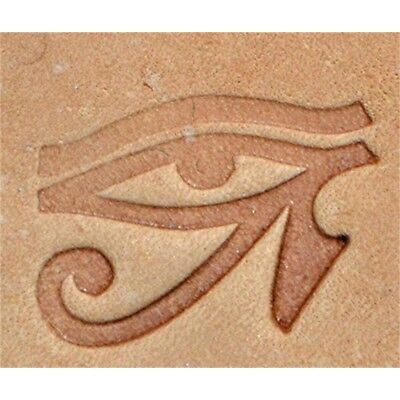 Eye Of Horus Craftool 3-d Stamp Item #8684-00 By Tandy Leather - 3d 868400