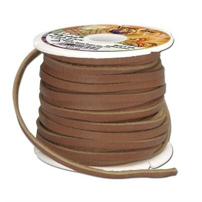 Latigo Lace Big 50' 1/8in - Brown Tandy Leather Factory 18inch Wide 50feet