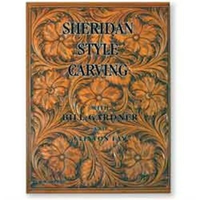 Sheridan Style Leather Carving Book - How-to Guide Instructions Tool Tandy