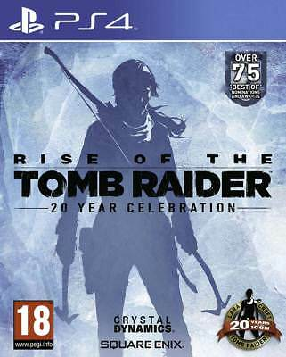 Rise of the Tomb Raider: 20 Year Celebration (PS4)  NEW AND SEALED - IN STOCK