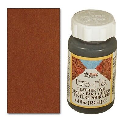 4oz Canyon Tan Eco Leder Farbstoff - Leder Flo Farbe Leathercraft Tandy 260006