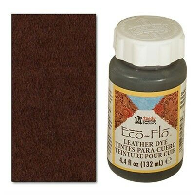 4oz Bison Brown Eco Leather Dye - 44 Fl Oz 132ml Ecoflo Multiple Colours Free