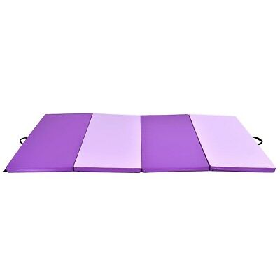 Home Indoor Thick Folding Panel Gym Mat Yoga Pilates Exercise Fitness Floor Pad