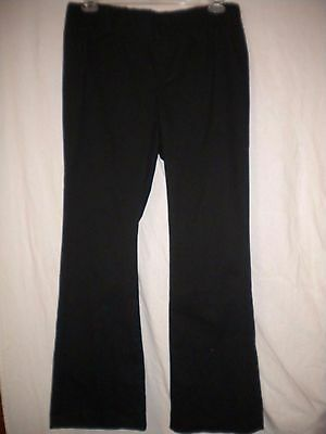 Old Navy Maternity Large Elastic Waist Stretch Black Pull On One Pocket Pants