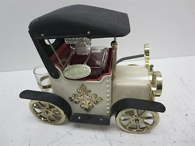 """Vintage Metal Complete Ford Music Box Decanter """"How Dry Am I"""""""