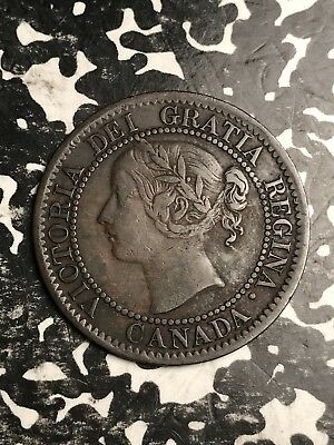1859 Canada Large Cent Lot#X4923