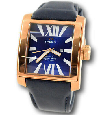 TW Steel CEO Goliath Men's Rose Gold SWISS MADE Sapphire Crystal Watch CE3018