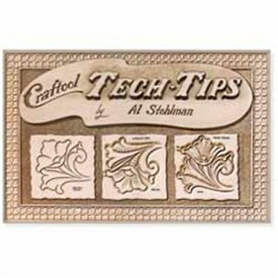 Leathercraft Tech-tips Book - Techtips Tandy 6605600 Techniques