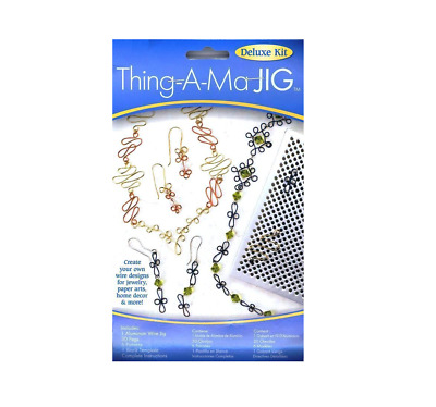 Darice DELUXE THING A MA JIG Jewelry Making Wire Bending Tool