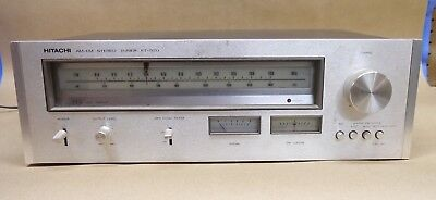Hitachi FT-520 AM/FM Stereo Tuner (1976-78) - Vintage - Great Condition