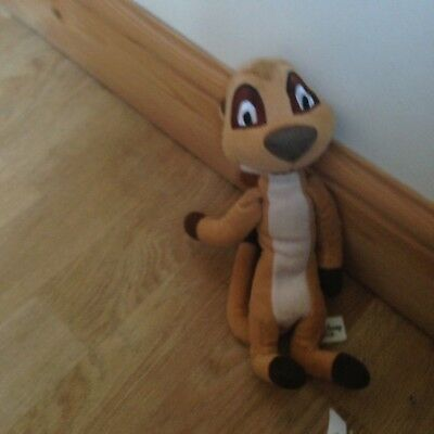 Disney Timon Meercat Plush Soft Toy From The Lion King
