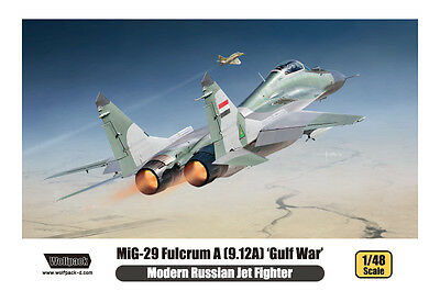 "WOLFPACK WP14804 MiG-29 Fulcrum A (9.12A) ""Gulf War"" in 1:48"