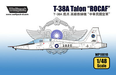 "WOLFPACK WP10010 T-38A Talon ""ROCAF"" in 1:48"