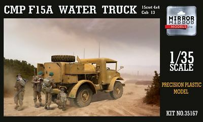 MIRROR MODELS 35167 CMP F15A Ford Water Truck Cab 13 (15cwt 4x4) in 1:35