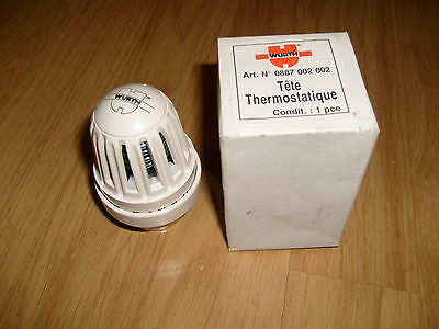 1e - Tête Thermostatique WURTH - Art. N° 0887 002 002 -