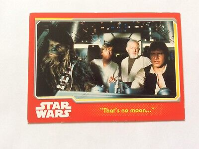 STAR WARS Trading Cards : 10 Topps Trading Cards