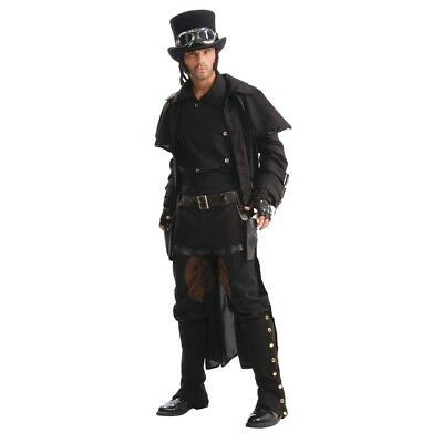 Steampunk Double Thigh Holsters - Fancy Dress Accessory Industrial Fancy Dress