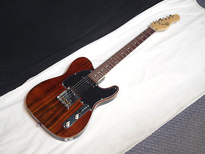 MICHAEL KELLY CC50 Deluxe 1950 series electric guitar - Striped Ebony - BLEM