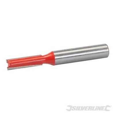 Silverline 8mm Straight Metric Cutter 6 x 20mm - Router Bit Tct 251322 Routing