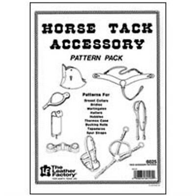 Horse Tack Accessory Pattern Pack Leather Designs Template Tandy Leather 6025-00