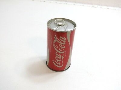 Vintage 1970's ?? Coca-Cola 12 Oz Steel Can With Pull Tab - Empty But No Holes