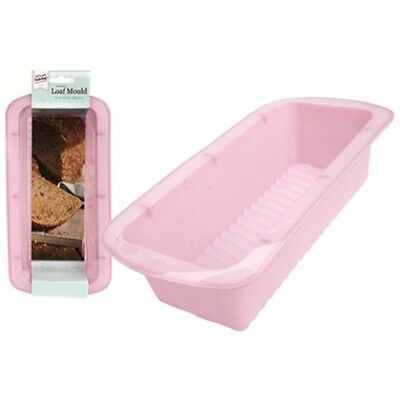 Let's Get Baking Bread Loaf Making Pan Tin Silicone Mould Tray - Cake Bakeware